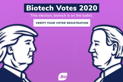 BIO Launches 'Biotech Votes' Campaign to Encourage Registration and Informed Voting