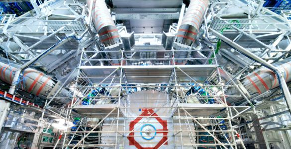 Researchers Hunt for New Particles in Particle Collider Data