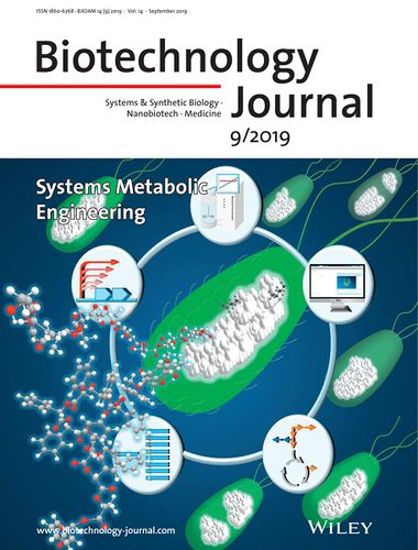 Inside Front Cover: Biotechnology Journal 9/2019