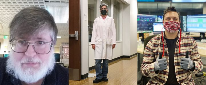 Masks On, Ready to Work: Meet the People Supporting COVID-19 Science