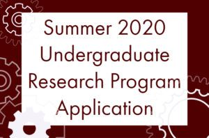 USRG Application NOW OPEN