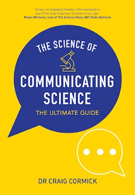 Craig Cormick Publishes New Book on Science of Communicating Science