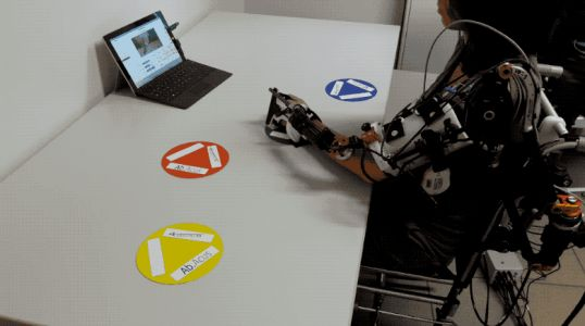 A Hybrid Robotic System for Arm Training of Stroke Survivors: Concept and First Evaluation