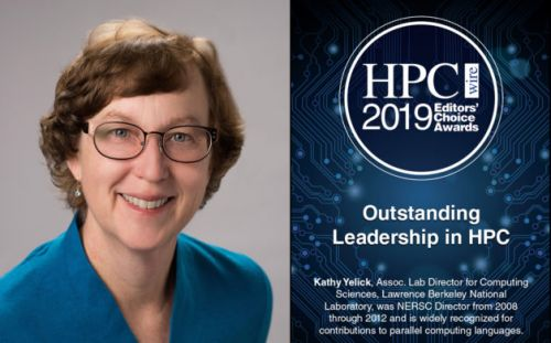 Yelick Recognized for Outstanding Leadership in HPC